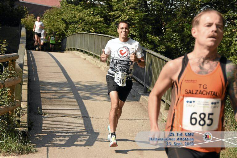 29. OMV Halbmarathon Altötting